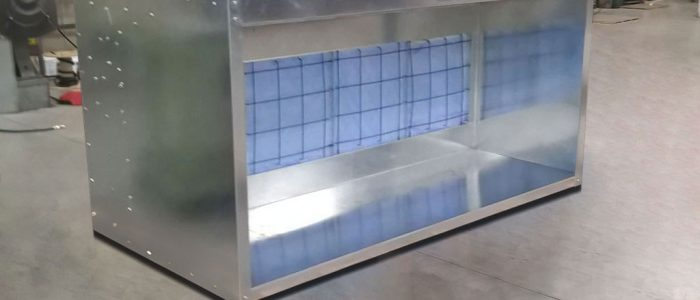 Table Top Spray Booth – Double Wide